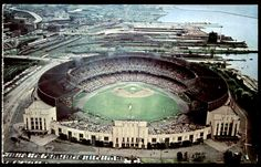 Cleveland Municipal Stadium, my first major league baseball experiences were here!