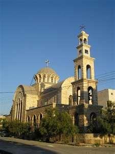 Roman Orthodox Church in Hama, Syria