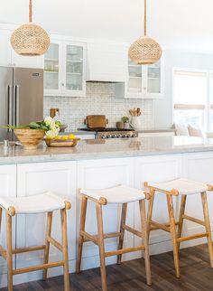 Bright Bohemian Beach Home with Rita Chan Interiors - Inspired By This