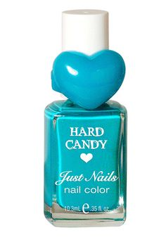 we've been on a nail polish kick here at My Beauty Bunny - hard candy polish comes in tons of awesome colors and is cruelty free! Beauty Products From The 90s, Hard Candy Makeup, Candy Brands, Blue Nail Polish, Pink Candy, Skin Makeup, Nail Care, Nail Colors, Bold Colors