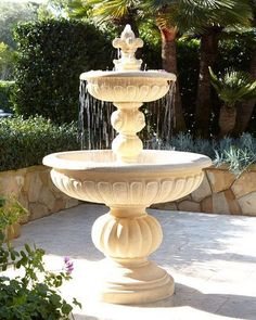 Lionhead Stonecast Fountain · Outdoor Wall FountainsGarden Water ...