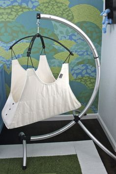 Check out our test drive of the Hushamok Hammock Review! #projectnursery