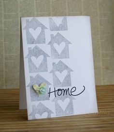 Home card by Kimberly Crawford