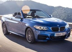 Beautiful in blue! BMW 2 Series Convertible