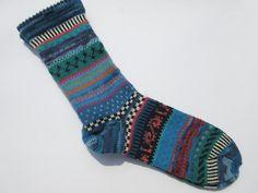 Socken - Socken Gr. 43/44 - ein Designerstück von Lotta_888 bei DaWanda
