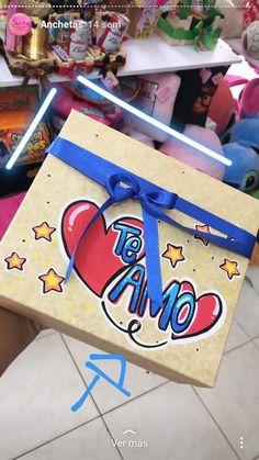 #regalossorpresa Diy Birthday, Birthday Cards, Happy Birthday, Pretty Letters, Parent Gifts, Disney Drawings, Gift Bags, Boyfriend Gifts, Origami