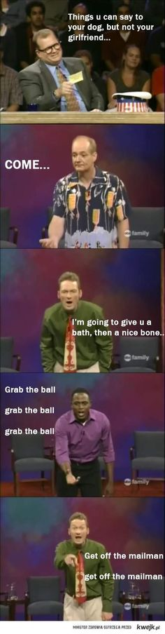 Whose Line...I miss that show so excited for it to come back in JULY!!! Hope its good with the new host