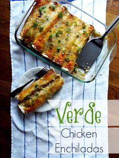 Verde Chicken Enchiladas Kraft Recipe Makers #shop