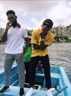 31112454688 Wizkid shares behind-the-scenes pics from new music video with Tinie  Tempah