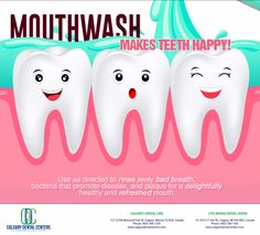 Not all oral rinses are the same. Ask Dr. Asaria about cosmetic and therapeutic mouthwash. #DentistCalgary
