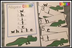 Alligator CHOMP freebie game