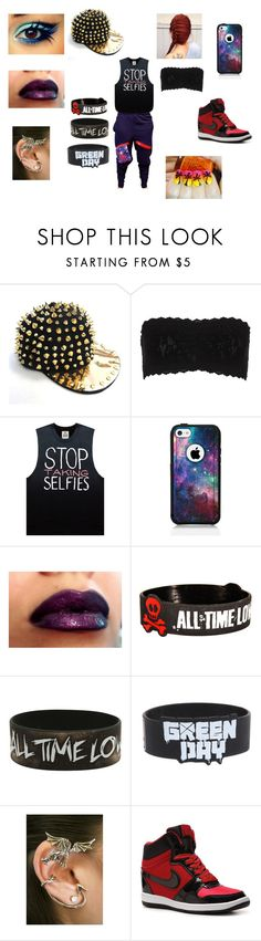"""""""Badass Dancing JJ"""" by jade-moore-1 ❤ liked on Polyvore featuring Hanky Panky, Revé, OtterBox and NIKE"""