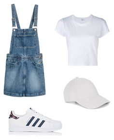 """Untitled #50"" by qs2k on Polyvore featuring RE/DONE, adidas and Le Amonie"