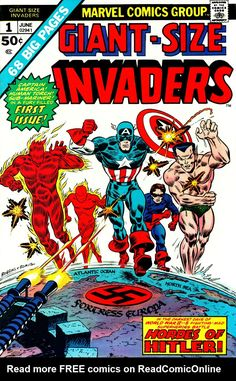 Giant-Size Invaders Issue #1 - Read Giant-Size Invaders Issue #1 comic online in high quality