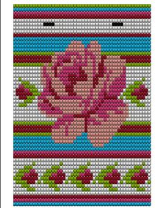 Possible mochila bag pattern Tapestry Crochet Patterns, Bead Loom Patterns, Crochet Stitches Patterns, Beading Patterns, Cross Stitch Patterns, Mochila Crochet, Bag Crochet, Crochet Purses, Crochet Chart