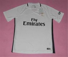 PSG 16-17 Season Third White Soccer Jersey [H450]