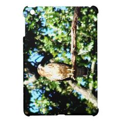 Hawk On A Limb iPad Mini Cases