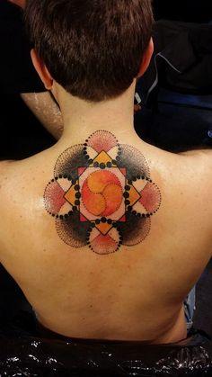 #tattoo #colortattoo #mandala #mandalatattoo #studio #bardo #inked #ink #tattootilldead