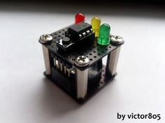 """'Arduino' Decision 'Box' BE Pleace notice: This project neither contains a box nor any Arduino* code. I stuck with this name because this project is a modifictaion of """"Arduino decision box posted three days ago. Robotics Engineering, Computer Engineering, Kids Electronics, Electronics Projects, Electronics Basics, Rules For Kids, Electronic Kits, Electrical Projects, Circuit Design"""