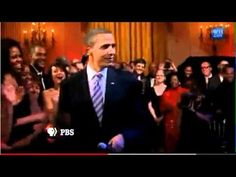 President Obama Sings Sweet Home Chicago.  My President can sing.