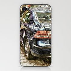 Its just a small dent, Honest! iPhone & iPod Skin by F Photography and Digital Art - $15.00