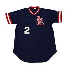 Vintage-1980s-80s-Wilson-St-Louis-Cardinals-Baseball-Jersey-2-Mens-Size-Medium