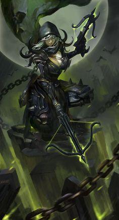 Naelle Ardai - Quinta Filha de Raven e uma das preferidas da Rainha, embora oficialmente banida de An-Karmon. Líder da Hubris, uma grande guilda criminosa em Ardnil.