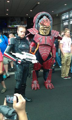 Awesome Mass Effect costumes