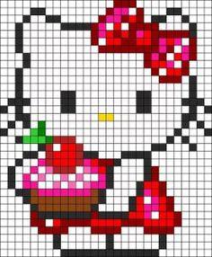 Hello Kitty : 1001 possibilités en perles Hama perler bead perles à repasser
