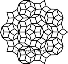 Penrose_Rhombi1_B&W.jpg 811×774 pixels