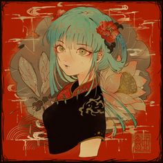 Kai Fine Art is an art website, shows painting and illustration works all over the world. Girls Anime, Anime Art Girl, Art And Illustration, Anime Style, Character Inspiration, Character Art, Japanese Artwork, Grafiti, Guache