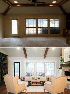 Fixer Upper. Living Room ...