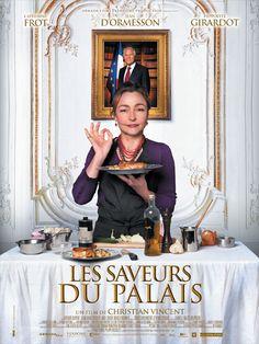 Les Saveurs du palais est un film de Christian Vincent avec Catherine Frot, Jean d'Ormesson. Synopsis : Hortense Laborie est une cuisinière réputée qui vit dans le Périgord. A sa grande surprise, le Président de la République la nomme responsable de s