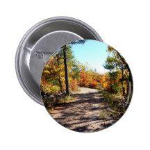 St Joseph Island Fall Path 2 Inch Round Button