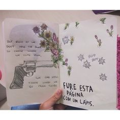 poke holes in this page wreck this journal