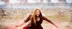 Scarlet Witch - the most powerful avenger.
