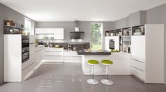 A modern kitchen just right for you. Whether as designer kitchen with island or combined with other home living ideas – nobilia has the right solution. Nobilia Kitchen, Kitchen Maker, Kitchen Cupboard Designs, Cocinas Kitchen, Kitchen Tops, Kitchen Cupboards, Kitchen White, German Kitchen, High End Kitchens