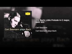J.S. Bach: Little Prelude in C major, BWV 933