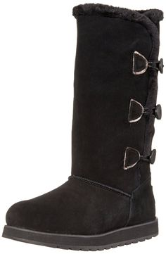 Skechers Women's Keepsakes Three-Button Snow Boot -- You can get more details here : Women's snow boots