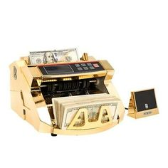 Money Cash Counting Bill Counter Bank Counterfeit Detector UV & MG Machine for sale online Money Counter, Counting Money, Money Pictures, Money Bill, Gold Money, Barbie House, Paisley, Packaging, Snow