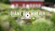 Video of Diane Ott Whealy, Co-founder and VP of Seed Savers Exchange - from Grow Inspired video series