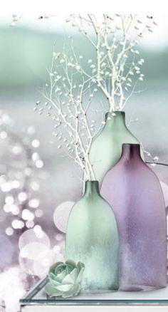 ** Purple & mint … More
