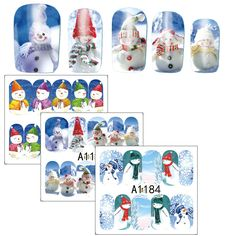 1pcs 2017 Xmas Design Nail Stickers Snow Man Water Transfer Nail Art Foils Manicure Wrap Finger Nail Decal New Year SAA1177-1188 #Manicures Nail http://www.ku-ki-shop.com/shop/manicures-nail/1pcs-2017-xmas-design-nail-stickers-snow-man-water-transfer-nail-art-foils-manicure-wrap-finger-nail-decal-new-year-saa1177-1188/
