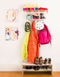 How to Make an Anthropologie Wire Wall Organizer for Half the Price via Brit + Co.