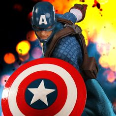 Pre-order Mezco One 12 Collective Marvel Captain America Figure Pre-orders