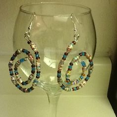 First jewelry I ever made!! Finally found a use for the Paper beads I love to make!