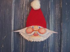 Sandy Claws family of Hand-painted by Art4recyclinghearts on Etsy