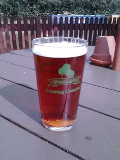 Woodlands General's Tipple. I think they brew it here at the Olde Barbridge in Middleton, Cheshire. Strong and nutty.
