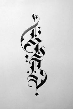 Calligraphy Fonts Alphabet, Font Art, Arabic Calligraphy Art, Tattoo Lettering Styles, Lettering Design, Hand Lettering, Typography Layout, Witcher Wallpaper, Schrift Tattoos