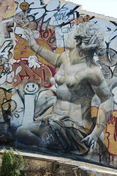 D Photo Pichi Avo Pichi E Avo Pinterest Bristol Uk - Beautiful giant murals greek gods pichi avo